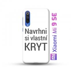 Xiaomi Mi 9 SE kryt s vlastní fotkou