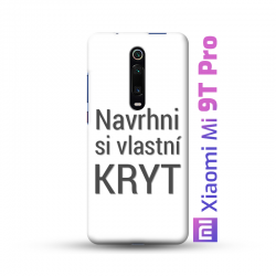 Xiaomi Mi 9T Pro kryt s vlastní fotkou