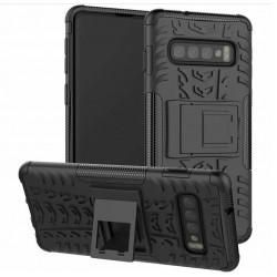 Samsung Galaxy S10 odolný černý obal Panzer case