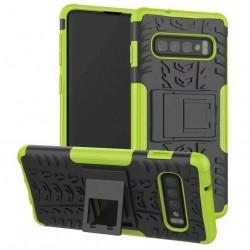 Samsung Galaxy S10 odolný zelený obal Panzer case