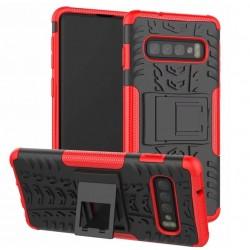 Samsung Galaxy S10 Plus odolný červený obal Panzer case
