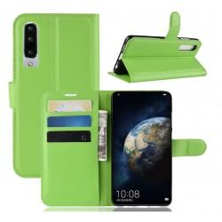 Knížkové zelené pouzdro s poutkem pro Huawei P30 Pro