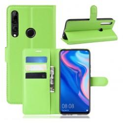 Knížkové zelené pouzdro s poutkem pro Huawei P Smart Z