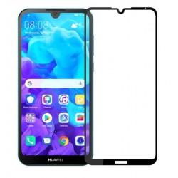 Tvrzené ochranné sklo na mobil Huawei Y5 2019 - černé