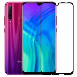 Tvrzené ochranné sklo na mobil Honor 20 Lite - černé