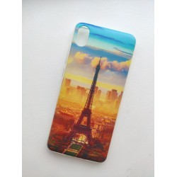 Xiaomi Redmi 7A silikonový obal s potiskem Paris