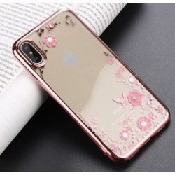 Silikonový obal se vzorem a rámečkem pro iPhone 11 Pro Max
