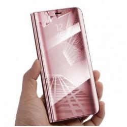 Zrcadlové pouzdro na Huawei Y5 2018 - Růžový lesk