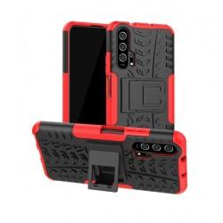Odolný červený obal Panzer case pro Huawei Nova 5T