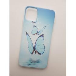 Silikonový obal s potiskem Motýli pro iPhone 11 Pro Max