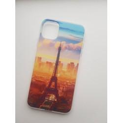 Silikonový obal s potiskem Paris pro iPhone 11 Pro Max