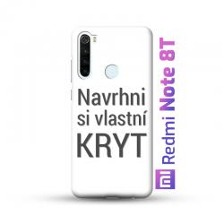Redmi Note 8T kryt s vlastní fotkou