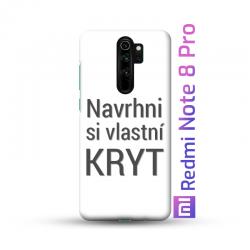 Redmi Note 8 Pro kryt s vlastní fotkou