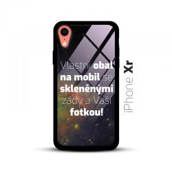 Obal s vlastní fotkou a skleněnými zády na mobil iPhone Xr