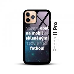 Obal s vlastní fotkou a skleněnými zády na mobil iPhone 11 Pro