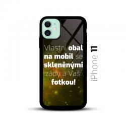 Obal s vlastní fotkou a skleněnými zády na mobil iPhone 11