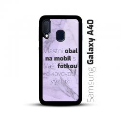 Obal s vlastní fotkou na mobil Samsung Galaxy A40