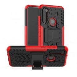 Odolný červený obal Panzer Case na Xiaomi Redmi Note 8