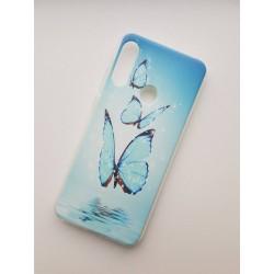 Honor 9X silikonový obal s potiskem Motýli
