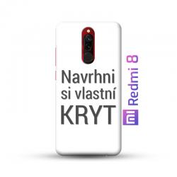 Xiaomi Redmi 8 kryt s vlastní fotkou