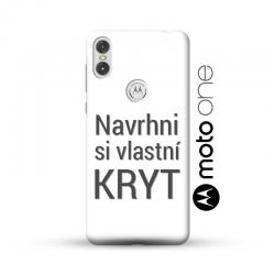 Motorola Moto One kryt s vlastní fotkou