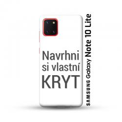 Samsung Galaxy Note 10 Lite kryt s vlastní fotkou
