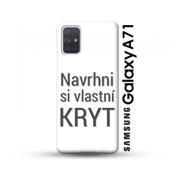 Samsung Galaxy A71 kryt s vlastní fotkou