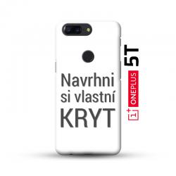 OnePlus 5T kryt s vlastní fotkou