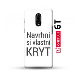 OnePlus 6T kryt s vlastní fotkou