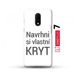 OnePlus 7 kryt s vlastní fotkou