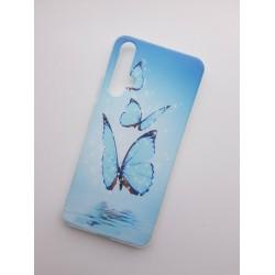 Silikonový obal s potiskem Motýli na Huawei Nova 5T