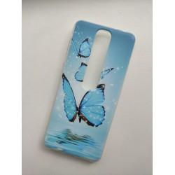 Silikonový obal s potiskem na Vodafone Smart N10 - Motýli