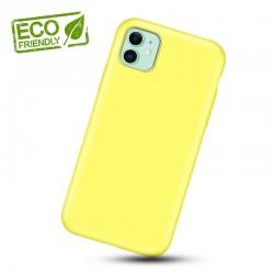 Liquid silikonový obal na iPhone 11 | Eco-Friendly - Žlutá