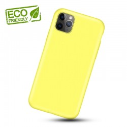 Liquid silikonový obal na iPhone 11 Pro | Eco-Friendly - Žlutá