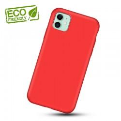 Liquid silikonový obal na iPhone 11 | Eco-Friendly - Červená