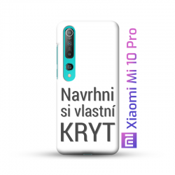 Xiaomi Mi 10 Pro kryt s vlastní fotkou