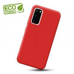 Liquid silikonový obal na Samsung Galaxy S20 | Eco-Friendly - Červená