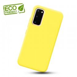 Liquid silikonový obal na Samsung Galaxy S20 | Eco-Friendly - Žlutá