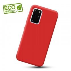 Liquid silikonový obal na Samsung Galaxy S20+ | Eco-Friendly - Červená