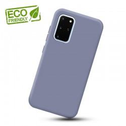 Liquid silikonový obal na Samsung Galaxy S20+   Eco-Friendly - Modrá