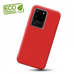 Liquid silikonový obal na Samsung Galaxy S20 Ultra | Eco-Friendly - Červená