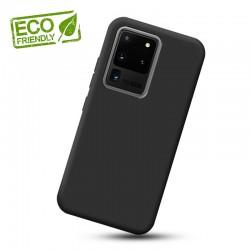 Liquid silikonový obal na Samsung Galaxy S20 Ultra | Eco-Friendly - Černá