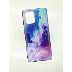 Silikonový obal na Samsung Galaxy A71 s potiskem - Vesmír