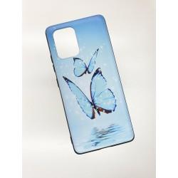 Silikonový obal s potiskem na Samsung Galaxy S10 Lite - Motýli