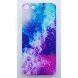iPhone SE 2020 silikonový obal s potiskem Vesmír