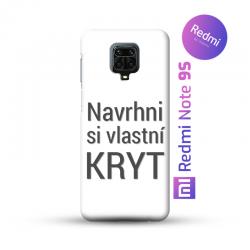 Redmi Note 9S kryt s vlastní fotkou