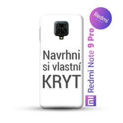 Redmi Note 9 Pro kryt s vlastní fotkou
