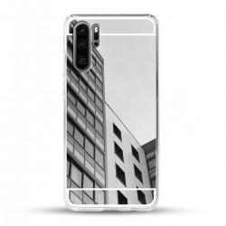 Zrcadlový TPU obal na Huawei P30 PRO - Stříbrný lesk