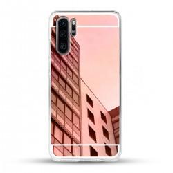 Zrcadlový TPU obal na Huawei P30 PRO - Růžový lesk