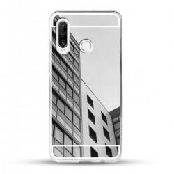 Zrcadlový TPU obal na Huawei P30 Lite - Stříbrný lesk